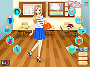 Fabulous Back to School dressup game