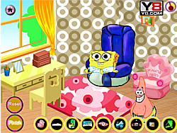 Baby SpongeBob Room Decor game