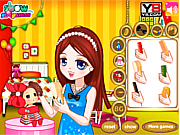 Dress Girl's Doll Hair لعبة