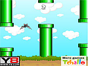 Flappy bat y8 game