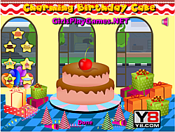 Charming Birthday Cakes game