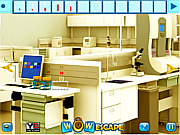 Wow Lab Room Escape لعبة