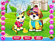 Juega al juego gratis Kitten and the Dog