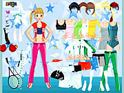 Juega al juego gratis All Sports Dressup
