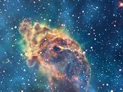 Watch free video Zoom out from the Carina Nebula