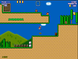 Super Mario World Flash game