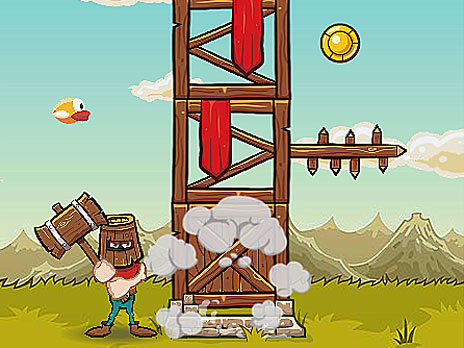 Crush the Tower game