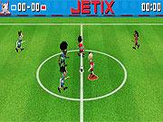 Juega al juego gratis Jetix Soccer