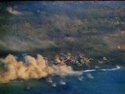 Watch free video Iwo Jima - Planes Bomb and Strafe Island 1945