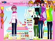 Happy Pink Dressup