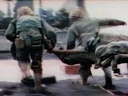 Watch free video Iwo Jima - Caring For Wounded Under Intense Fire