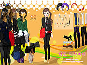 Black Skirts Dressup لعبة