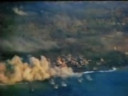 Watch free video Iwo Jima Planes Bomb and Strafe Island