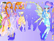 Purply Fairy Dressup