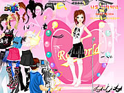 Roiworld Rockstar Dressup game