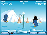 Game Penguin Volleyball
