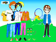 Themepark Boy Dressup game