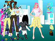 Janice Dressup game