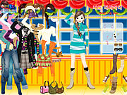 Big Window Dressup game