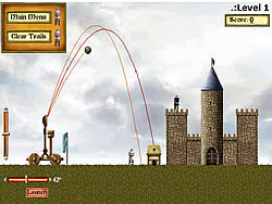 Lords 3 - Catapult game