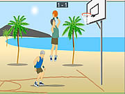 Air Raid Basketball game