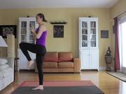 Mira dibujos animados gratis 30 Day Yoga Challenge - Day - 9