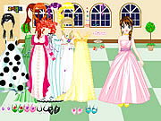 Castle Gown Dressup game