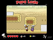 Juega al juego gratis Papa Louie: When Pizzas Attack