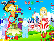 Fairytale Doll Dressup game