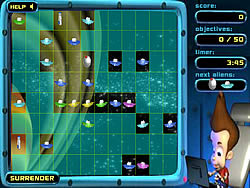 Jimmy Neutron: Alien Invasion game