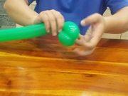 Watch free video Balloon Modeling - Flowerpot Base