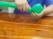 Watch free video Balloon Modeling - Flowerpot Base