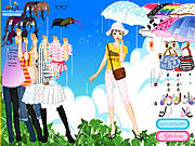 Rainy Days Dress Up game