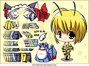 Dressup Bee game