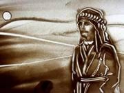 Mira dibujos animados gratis Kiwi Sand Art - Oriental Journey