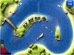 Jet Boat Racing game