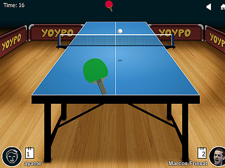 Yoypo Table Tennis game