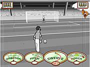Stan James: Original Free Kick Challenge game
