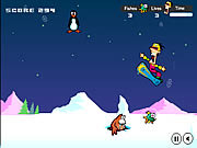 Snowboard Safari game