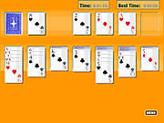 Solitaire Oldschool game