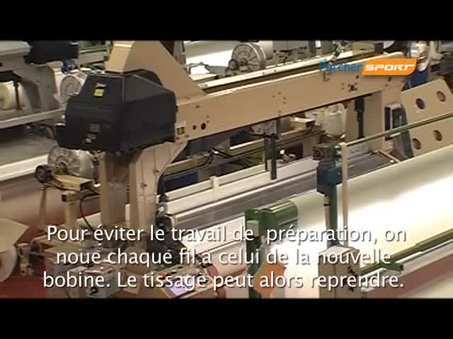Watch free video Manufacturing Process of the Paraglider Fabric