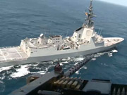 Watch free video NATO's Counter Piracy Flagship Tests Readiness