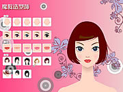 Virtual Makeover game