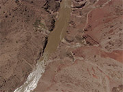Watch free video Grand Canyon NP: Detail of Inner Gorge, River