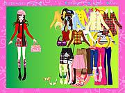 Jogar jogo grátis Colorful Fashion Dressup
