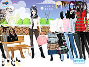 Winter Trend Dress Up game