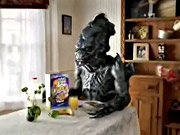 Watch free video Raisin Bran Crunch Commercial Alien Miles Melman