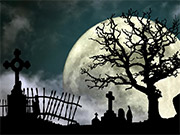 Watch free video Halloween Graveyard