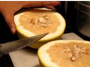 Mira dibujos animados gratis Time Lapse Cutting a Grapefruit