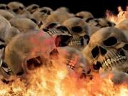 Watch free video Skulls Burning